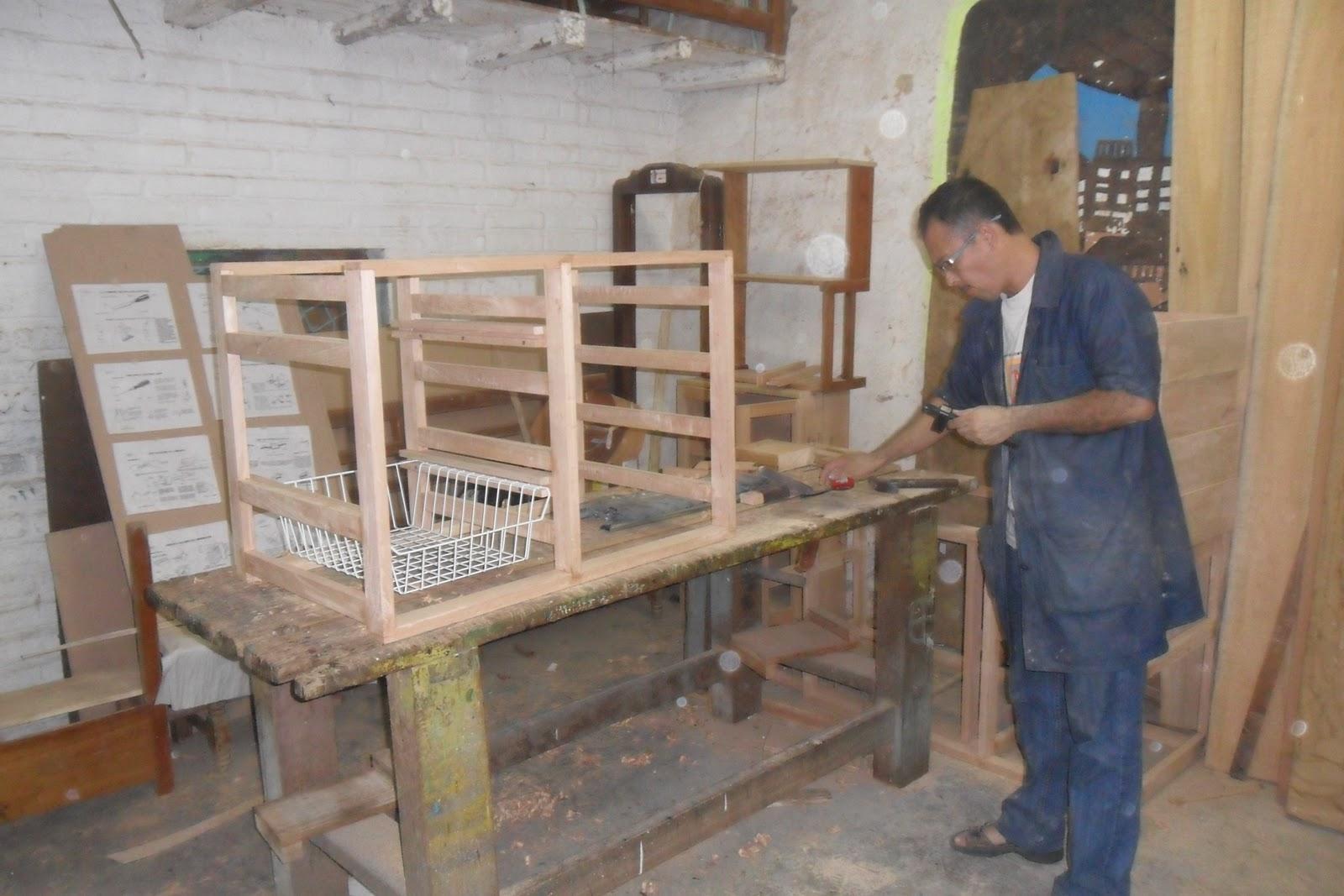 Tecnolog a en delineado y armado de estructuras en madera for Armado de muebles de cocina